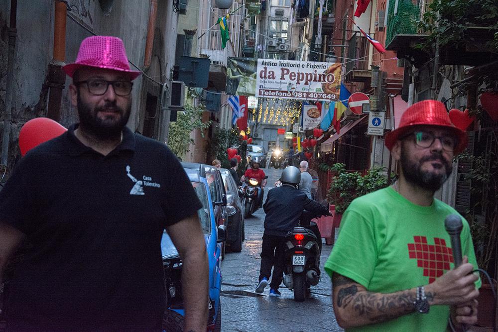 Peppe e Fabio in attesa
